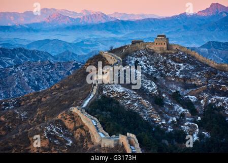 China, Hebei province, Great Wall of China, Jinshanling and Simatai section, Unesco World Heritage