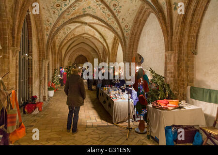 Schleswig, Germany, Schwahlmarkt in St. Peter's Cathedral to Schleswig - Stock Photo