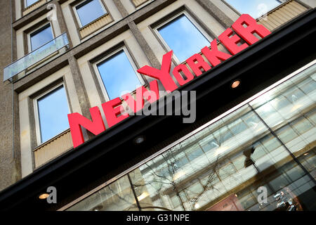 Hannover, Germany, branch of the clothing chain NewYorker - Stock Photo