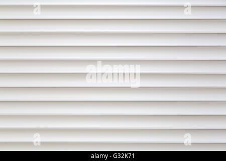 Abstract white jalousie background - Stock Photo