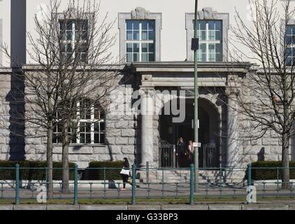 GIZ-Haus, Reichpietschufer, Tiergarten, Berlin, Deutschland - Stock Photo