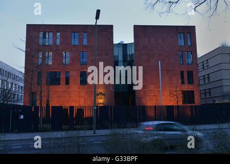 Botschaft Indien,Tiergartenstrasse, Tiergarten, Berlin, Deutschland - Stock Photo