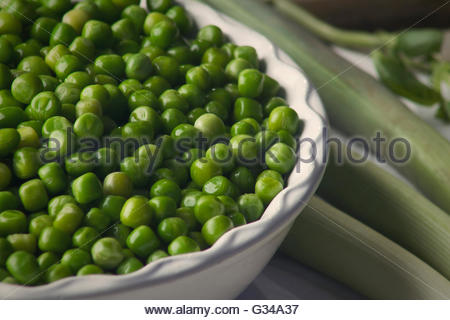 Beans with Leek Stock Photo, Royalty Free Image: 91898802 ...