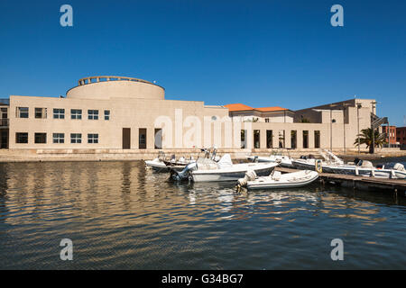 National Archaeology Museum and Museo Del Mare, Olbia, Sardinia, Italy - Stock Photo