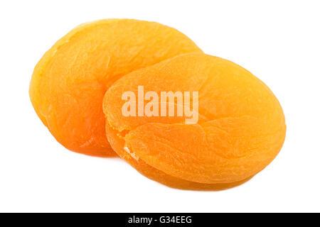 Dried apricots closeup - Stock Photo