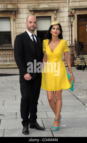 London, UK. 7th June, 2016. Royal Academy of Arts Summer Exhibition 2016 at Burlington House Piccadilly London. - Stock Photo