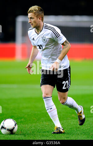 Marco Reus during the qualifying match for the FIFA World Cup 2014, Germany - Sweden 4:4, Olympic Stadium, Berlin - Stock Photo