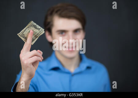 Close-up Of A Businessman Bribe - Stock Photo