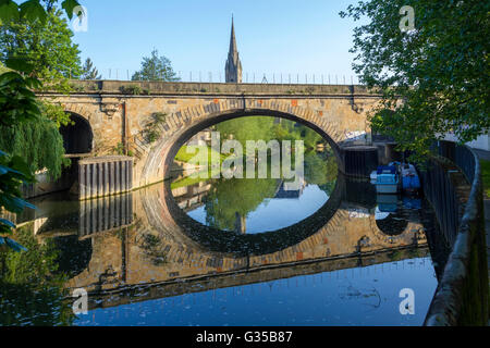 The Historic town of Bath, Somerset. - Stock Photo
