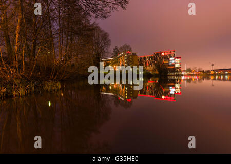 Resorts World leisure and shopping mall complex, Pendigo Lake, National Exhibition Centre, UK - Stock Photo