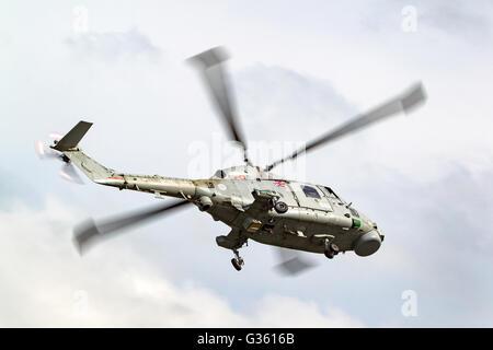 Royal Navy Fleet Air Arm Westland WG-13 Lynx HMA8 Helicopter