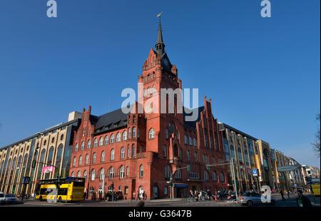 Altes Rathaus, Kaufhaus Das Schloss, Schlossstrasse, Steglitz, Berlin, Deutschland - Stock Photo