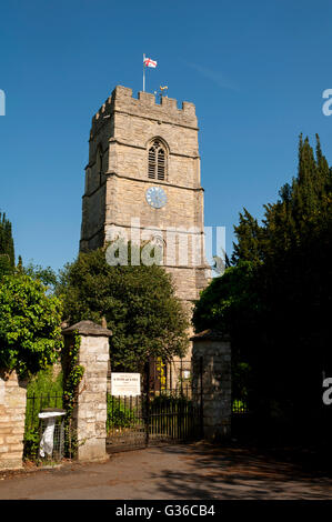 St. Peter and St. Paul Church, Cosgrove, Northamptonshire, England, UK - Stock Photo