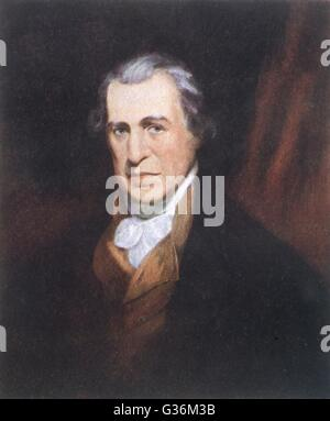James Watt (1736-1819) engineer & inventor - Stock Photo