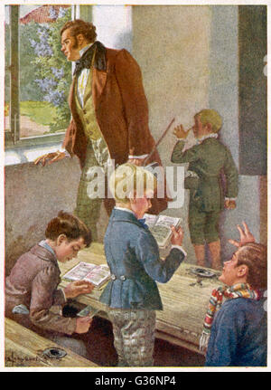 Franz Schubert (1797-1828), Austrian composer and musician, working rather unsuccessfully as a schoolteacher, with - Stock Photo
