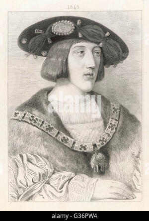 Charles V, Holy Roman Emperor (from 1519) and, as Carlos I of Spain, ruler of the Spanish Empire from 1516 until - Stock Photo