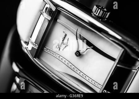 Longines time piece wrist watch ladies watch luxury watch swiss movement suisse suiss - Stock Photo