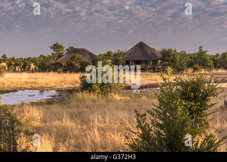 Nehimba Safari Lodge Hwange national Park Zimbabwe - Stock Photo