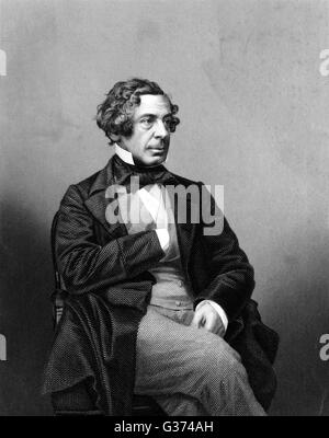 SAMUEL WARREN lawyer and writer         Date: 1807 - 1877 - Stock Photo