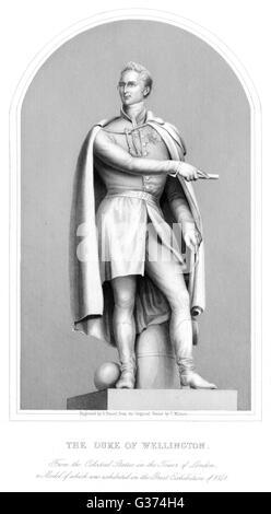 ARTHUR WELLESLEY, duke of  WELLINGTON soldier        Date: 1769 - 1852 - Stock Photo