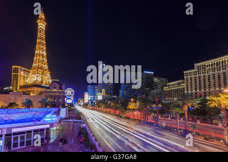 AUG 5, Las Vegas: The famous Paris Las Vegas Casino on AUG 5, 2015 at Las Vegas, Nevada - Stock Photo