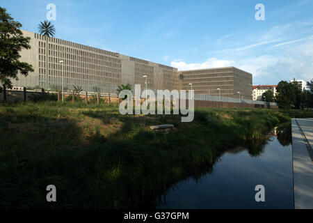Exterior view of new headquarters of BND (Bundesnachrichtendienst) the Federal Intelligence Service of Germany in - Stock Photo
