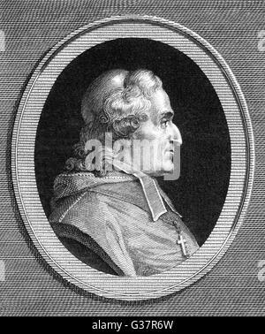 FRANCOIS DE SALIGNAC DE  LA MOTHE FENELON  French prelate, educator and  writer ('Telemaque')      Date:  1651  - Stock Photo