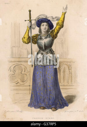 a biography of joan of arc a french national heroine From joan of arc: introduction (classics illustrated no  chastity  and strength of the french peasant girl who led an army and crowned a king  of  the meaning of her life, from political pawn to national heroine, from accused.
