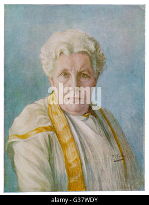 ANNIE BESANT  English theosophist and Indian  political leader - portrait       Date: 1847 - 1933 - Stock Photo