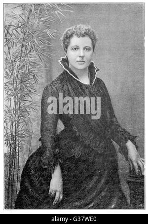 ANNIE BESANT  English theosophist (Irish heritage) and Indian  political leader       Date: 1847 - 1933 - Stock Photo