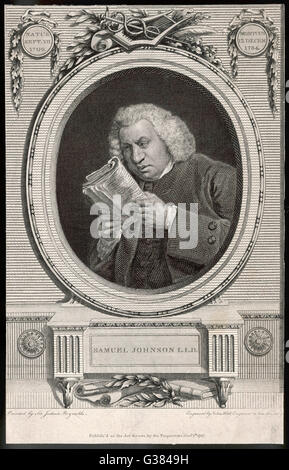 samuel johnson essayist Essays and criticism on samuel johnson - samuel johnson poetry: british analysis.