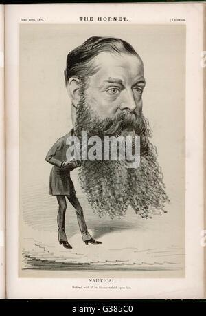 HUGH CULLING EARDLEY CHILDERS  statesman        Date: 1827 - 1896 - Stock Photo