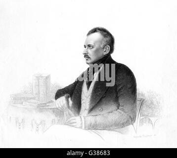JOSEPH MARIA VON RADOWITZ  Prussian general and  statesman       Date: 1797 - 1853 - Stock Photo
