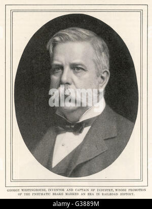 a biography of george westinghouse an american inventor