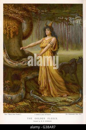Here Are Medea The Daughter Of King Aeetes Of Colchis
