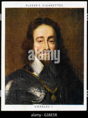 CHARLES I OF ENGLAND          Date: 1600 - 1649 - Stock Photo