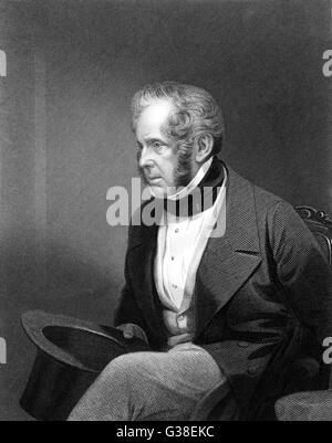 HENRY JOHN TEMPLE, Third Viscount PALMERSTON  Statesman       Date: 1784-1865 - Stock Photo