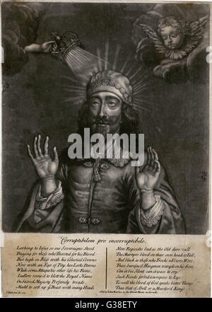 CHARLES I OF ENGLAND  The King as Martyr        Date: 1600 - 1649 - Stock Photo