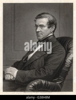 SIR CHARLES WHEATSTONE  physicist and inventor        Date: 1802 - 1875 - Stock Photo