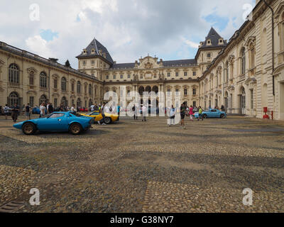 Turin, Italy. 9th June, 2016. Salone dell Auto di Torino (meaning Turin Auto Show), free outdoor car exhibition - Stock Photo