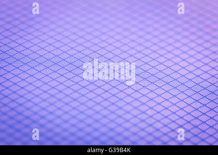 Background of narrow close focus on purple texture fabric of polyester fiber and nylon. It designed as crossing - Stock Photo
