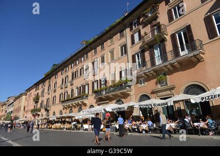 Piazza Navona, Rom, Italien - Stock Photo