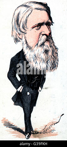 sir STAFFORD HENRY NORTHCOTE 1st earl IDDESLEIGH  statesman, Chancellor of the Exchequer      Date: 1818 - 1887 - Stock Photo