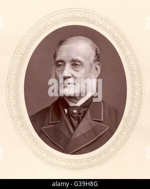 SIR RUTHERFORD ALCOCK  Diplomat; Britain's first  representative in Japan.       Date: 1809 - 1897 - Stock Photo