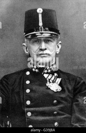 GENERAL CONRAD  VON HOTZENDORF  Chief of Staff, Austro- Hungarian army      Date: 1852 - 1925 - Stock Photo