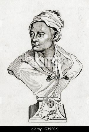 WILLIAM HOGARTH  Artist and engraver        Date: 1697 - 1764 - Stock Photo