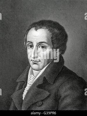 AUGUST FRIEDRICH FERDINAND VON KOTZEBUE  German dramatist       Date: 1761 - 1819 - Stock Photo
