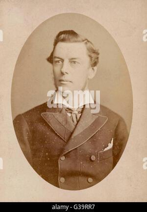 JOSEPH CHAMBERLAIN   Liberal MP         Date: 1836 - 1914 - Stock Photo