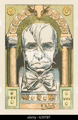 EMILE DE GIRARDIN  French journalist        Date: 1806 - 1881 - Stock Photo