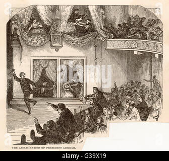 a report on the assassination of president abraham lincoln at the fords theatre in washington dc Letter of condolence from abraham lincoln to queen victoria on the death of her husband prince albert.